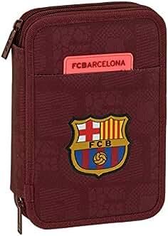 FC Barcelona – Estuche escolar doble con 34 accesorios ... bcc9b8e2dd115