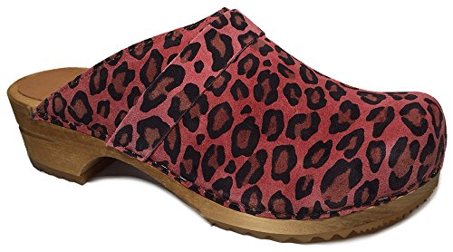 Sanita s Di Camoscio 699 Di 453 Stampato Leopardo Sabbia Corallo Scarpe rZwqrY