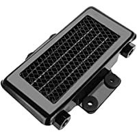 KIMISS Aluminio 65ml Enfriador de aceite del motor de la motocicleta Radiador de enfriamiento para 100CC