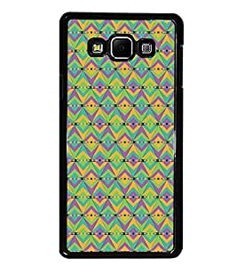 PrintDhaba Pattern D-5412 Back Case Cover for SAMSUNG GALAXY E7 (Multi-Coloured)