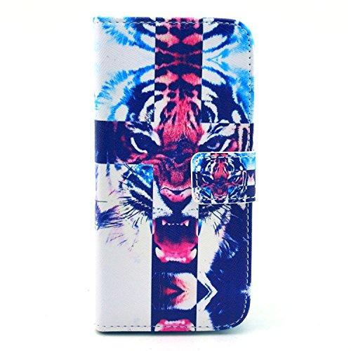 """MOONCASE iPhone 6 Case Motif Conception Coque en Cuir Portefeuille Housse de Protection Étui à rabat Case pour iPhone 6 (4.7"""") P42"""