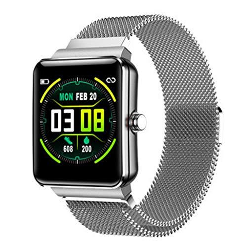 Laile Smartwatches H10 Smart Watch Wasserdichter Multifunktions-Schrittzähler Blutdruck-Herzfrequenz,Fitness mit Pulsmesser Blutdruckmesser Farbbildschirm