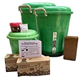 Stonesoup Manjhli : 2 Medium Composting Bins' Kit for Zero waste household