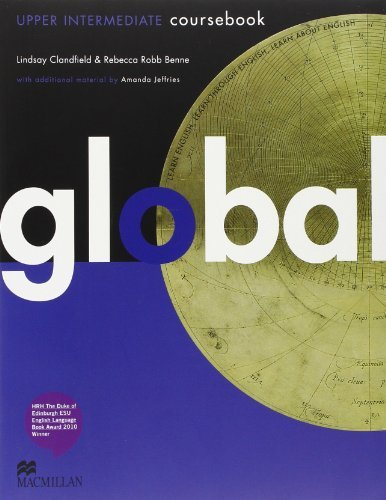 Portada del libro Global Upper Intermediate: Student's Book Pack by Lindsay Clandfield (2011-01-27)
