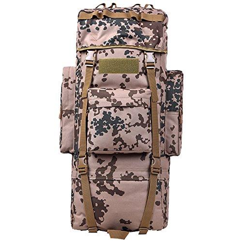 GOUQIN Outdoor Rucksack Klassische Mode Von Outdoor Dual Umhängetaschen 100 L Masse Klettern Taschen Wandern Paket Tasche G
