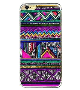 Multi Colour Pattern 2D Hard Polycarbonate Designer Back Case Cover for Apple iPhone 6s Plus :: Apple iPhone 6s+