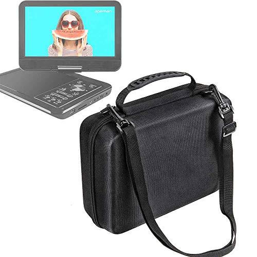 Hartschalentasche Tasche , Tragbar erschütterungsfeste Schutzbox für APEMAN 10,5\'\' Tragbarer DVD-Player mit Drehbarem Display