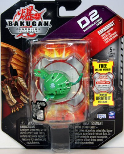 Bakugan - Gundalian Invaders - Bakuboost - D2 Bakudouble-Strike Avior