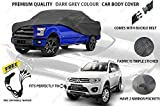 Volga Heavy Duty Grey Car Body Cover For Mitsubishi Pajero Sports