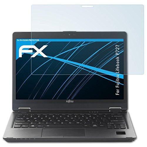 atFolix Schutzfolie kompatibel mit Fujitsu Lifebook P727 Folie, ultraklare FX Bildschirmschutzfolie (2X)
