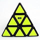 MoYu Pyraminx Speed Puzzle Cube smooth turning Cube Toy Black +a MoYu Cube Bag