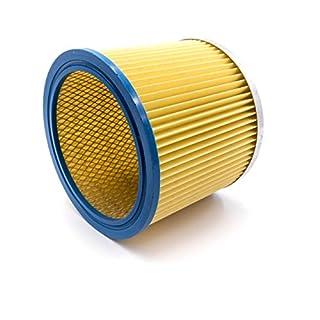 vhbw Rundfilter Filter für Staubsauger, Saugroboter, Mehrzwecksauger Aqua Vac, FIF, Herkules, LIV, Matrix, OBI, Simpa, Thomas, Güde wie 6.904-042.0