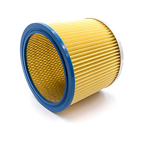 vhbw Rundfilter Lamellenfilter Filter für Staubsauger, Saugroboter, Mehrzwecksauger Aqua Vac, FIF, Herkules, LIV, Matrix, OBI, Simpa, Thomas, Güde