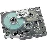 Brother Schriftband TZE221 9mm weiß/schwarz