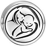 Soufeel Mother and Son Damen Charm Bead Anhänger 925 Sterling Silber
