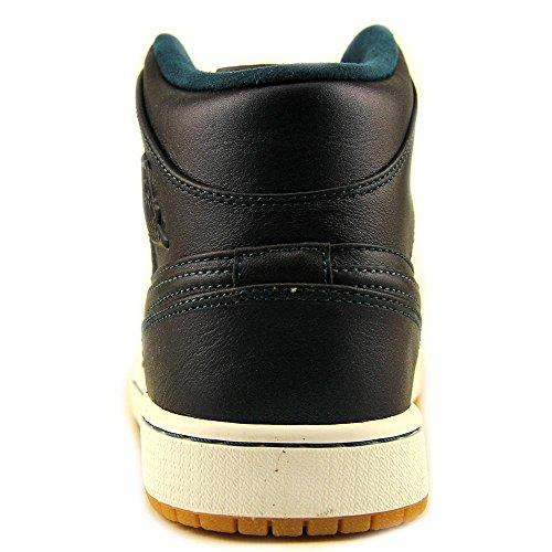 Jordânia Meados Sapatos Homens 1 Basebol Ar Nouveau Azul Nike Dos Brancos 5qnwtCxFf4