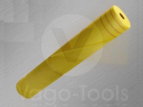 Armierungsgewebe 165g /m² 5x5 mm GELB 50m² Glasfasergewebe Gewebe Putzgewebe Putz VWS- und WDVS System