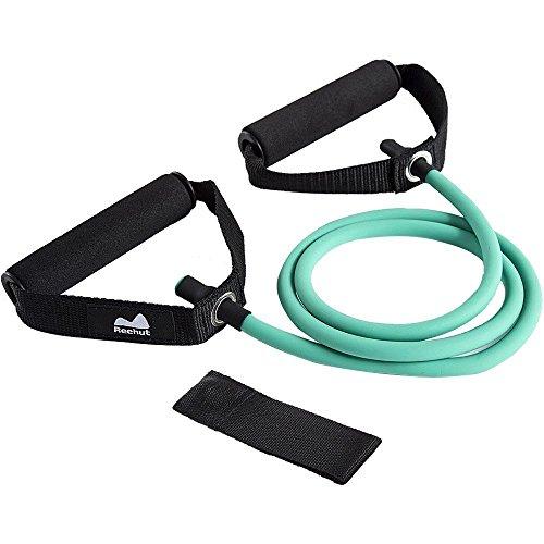 Reehut Resistance Fitness Bands Toning Tube Übungsbänder Resistance Loop für Yoga, Pilates, Rehabilitation Sport Physio-Gymnastik - für Männer & Frauen - aus Naturlatex (Fit Stretch Sicher)