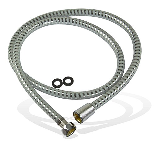 Stabilo-Sanitaer Flexibler Duschschlauch Brauseschlauch 1,25 m 125 cm 1250 mm Kunststoff Schlauch für Dusche