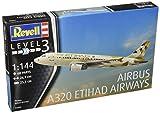 Revell Modellbausatz Flugzeug 1:144 - Airbus A320 ETIHAD AIRWAYS im
