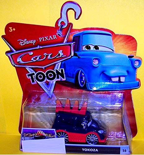 MODELLINO Cartoon Mattel-Cars Auto Toon 1/55 Yokoza