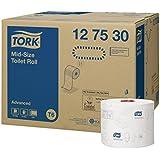 Tork 127530 Papier toilette rouleau / taille moyenne / Advanced / Compatible avec le système T6 / 2 plis / lot de 27 (27 x 100 mètres)