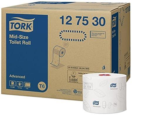Tork 127530 Midi toilet rolls T6 / Toilet paper rolls