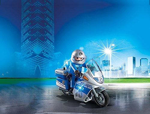 PLAYMOBIL 6876 – Motorradstreife mit LED-Blinklicht - 2