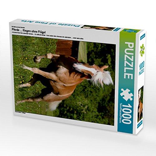 CALVENDO 4059478916449 Pferde Fliegen Ohne Flügel 1000 Teile Lege-Größe 48 x 64 cm Foto-Pu Preisvergleich