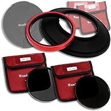 WonderPana 145 Neutral Density Kit - 145mm Filter Holder, Lens Cap, ND16 and ND32 Filters for the Canon 14mm Super Wide Angle EF f/2.8L II USM Lens (Full Frame 35mm)