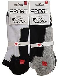 SOCKS Men's Ankle Socks multicolour multicolored One size