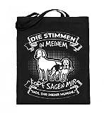 Chorchester Für alle, die mehr Hunde brauchen! - Jutebeutel (mit langen Henkeln)