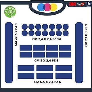 Aufkleber für Schützen die Fahrrad–Stickers Schutz Rahmen Fahrrad verschiedenen Farben–Cod. ci-, blau