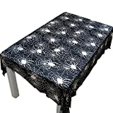 Polyester Fiber Tablecloth, Ghost Festival Halloween Tablecloth, Multi-Size Pumpkin Tablecloth