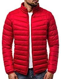 OZONEE Herren Winterjacke Steppjacke Sweatjacke Wärmejacke Jacke Gesteppt  J.Style 514K-10 c512f36d99