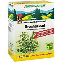 Brennesselsaft Schoenenberger 3X200 ml preisvergleich bei billige-tabletten.eu