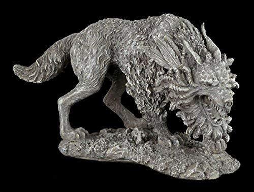Fenriswolf Figura - Fenrir Niño Von Loki - Nórdico Dios Vikingo