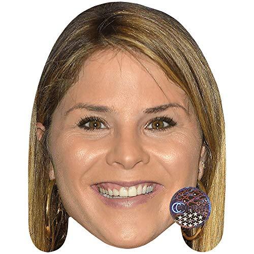 Celebrity Cutouts Jenna Bush Hager (Smile) Maske aus Karton (Bush-maske)
