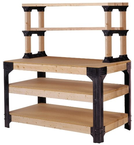 Storage-system (Hopkins 90164 2x4basics Workbench and Shelving Storage System by 2x4 Basics)