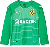 Puma Kinder BVB LS GK Shirt-Replica with Evonik Without OPEL Logo Trikot, Bright Green, 116