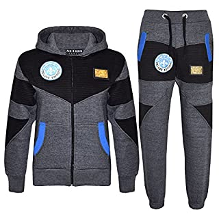 A2Z 4 Kids® Kids Tracksuit Boys NYC Deluxe Edition Print Hoodie Bottom Jogging Suit New Age 7 8 9 10 11 12 13 Years
