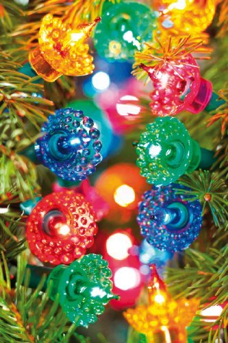 40 Pickwick Fairy Lights (Multi-Coloured) - decorate your tree 70s style!