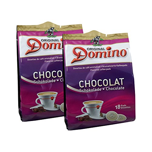 2x DOMINO Kaffeepads Schokolade (á 18 Pads)