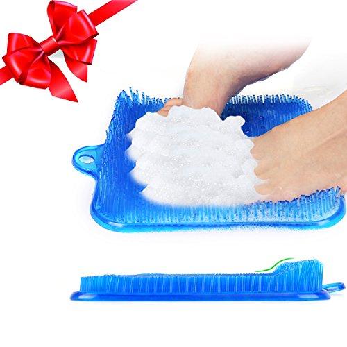 Totoose Fußmassage Matte Fußreflexzonen Fußpeeling zur Tief Entspannung und Stressabbauen Massagefußmatte Größe 23*23*2,5 CM Regenerationsmatte