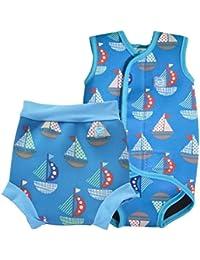 Splash About Jungen Baby Wrap und passende Happy Nappy