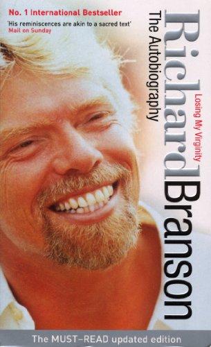 Buchseite und Rezensionen zu 'Losing My Virginity: The Autobiography' von Richard Branson