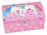 Depesche 5379 - Schmuckbox mit Geheimfach, Ylvi und die Minimoomis, rosa