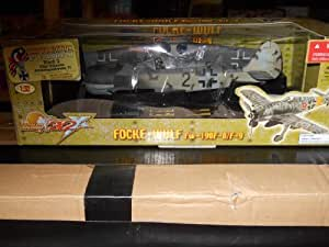 The Ultimate Soldier FOCKE-WULF FW-190f-8/F-9 Scale 1:32 by 21st Century Toys