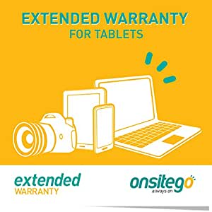 OnsiteGo 1 Year Comprehensive Extended Warranty for Tablets from Rs. 5001 to Rs. 10000