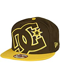 7c912b348c0 DC Shoes Kappe Double Up New Era Snapback Cap braun gelb - Einheitsgrösse -  verstellbar